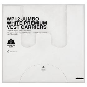 Picture of 330x490x570mm/25m Heavy White Vest Carrier