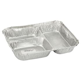 Picture of 3 Compartment Foil Container M3L