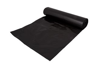 Picture of 26x44 Black Recycled Refuse Sacks 200g