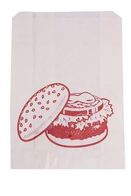 Picture of 5x7x7 Quarter Pounder Bags Paper