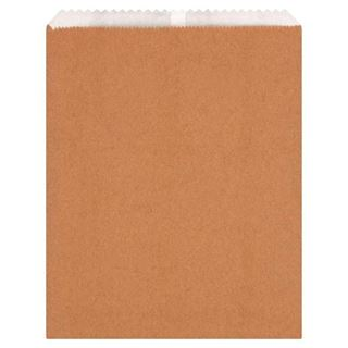 """Picture of 7x9.5"""" 2LB Lined Kraft Bags"""