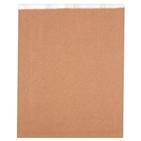 """Picture of 11x14"""" 3qt Lined Kraft bags"""