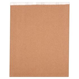 "Picture of 12.25x16"" 6Qt Lined Kraft bags"