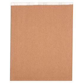 Picture of 11x16/4qt Lined Kraft Bags
