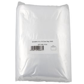 Picture of 10 x18 Clear Bag 150G