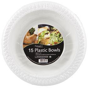 Picture of 12oz PLASTIC BOWLS 15PK