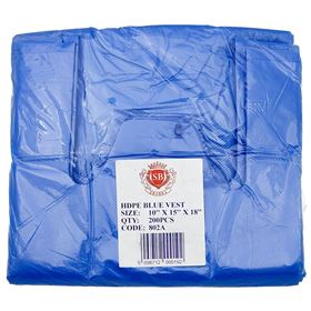 Picture of 225x345x450mm Blue Vest Carrier