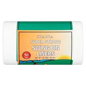 Picture of SB 23 x 30  Swing Bin Liners 50's HDPE