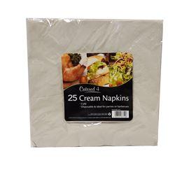 Picture of 25pk 2ply Napkins - Cream