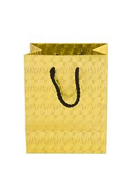Picture of 330X102X458MM GOLD LASER/L ROPE HANDLE BAG