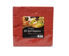 Picture of 25pk 2ply Napkins - Red