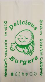 Picture of 5X8X9/40gsm Gre/proof Q/pounder Cheese Green