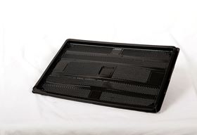 """Picture of 13"""" Black Tray AKPL-B"""