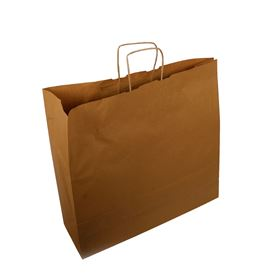 Picture of 540x150x490mm 100gsm Brown Paper Size6 Bag