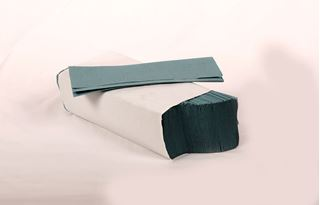 Picture of Blue 1ply ZFold Handtowel