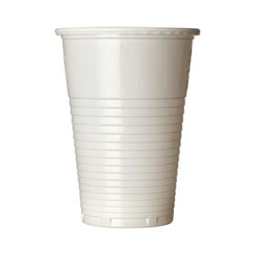 Picture of 7oz White Plastic Cup  ART20 PS 100'S