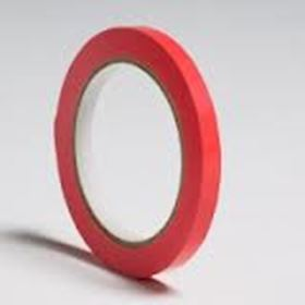 Picture of 9mmx66m Red Vinyl Butchers Tape (2214)