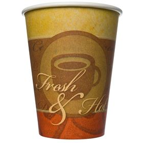 Picture of 12OZ/350ML PAPER CUP PTD HOT DRINK