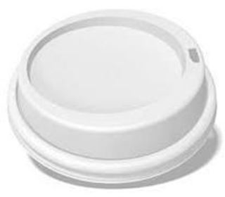 Picture of 8OZ/270ML LID FOR 9 OZ HOT CUP (883E09/NU)