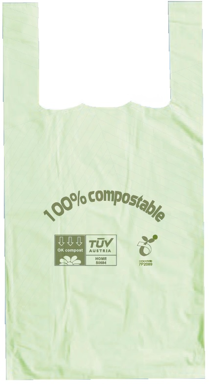 Your Store 279x415x515mm 16m Tuv Green Compostable Vtc