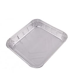 Picture of 220x150x45mm Smooth Wall Foil Container