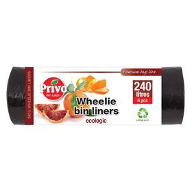Picture of SB 46X56 Wheelie Bin Liners 5's