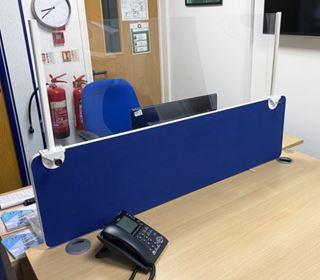 Picture of Desk Divider shield 1600mm