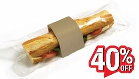 Picture of KRAFT BAGUETTE WITH FILM 168B